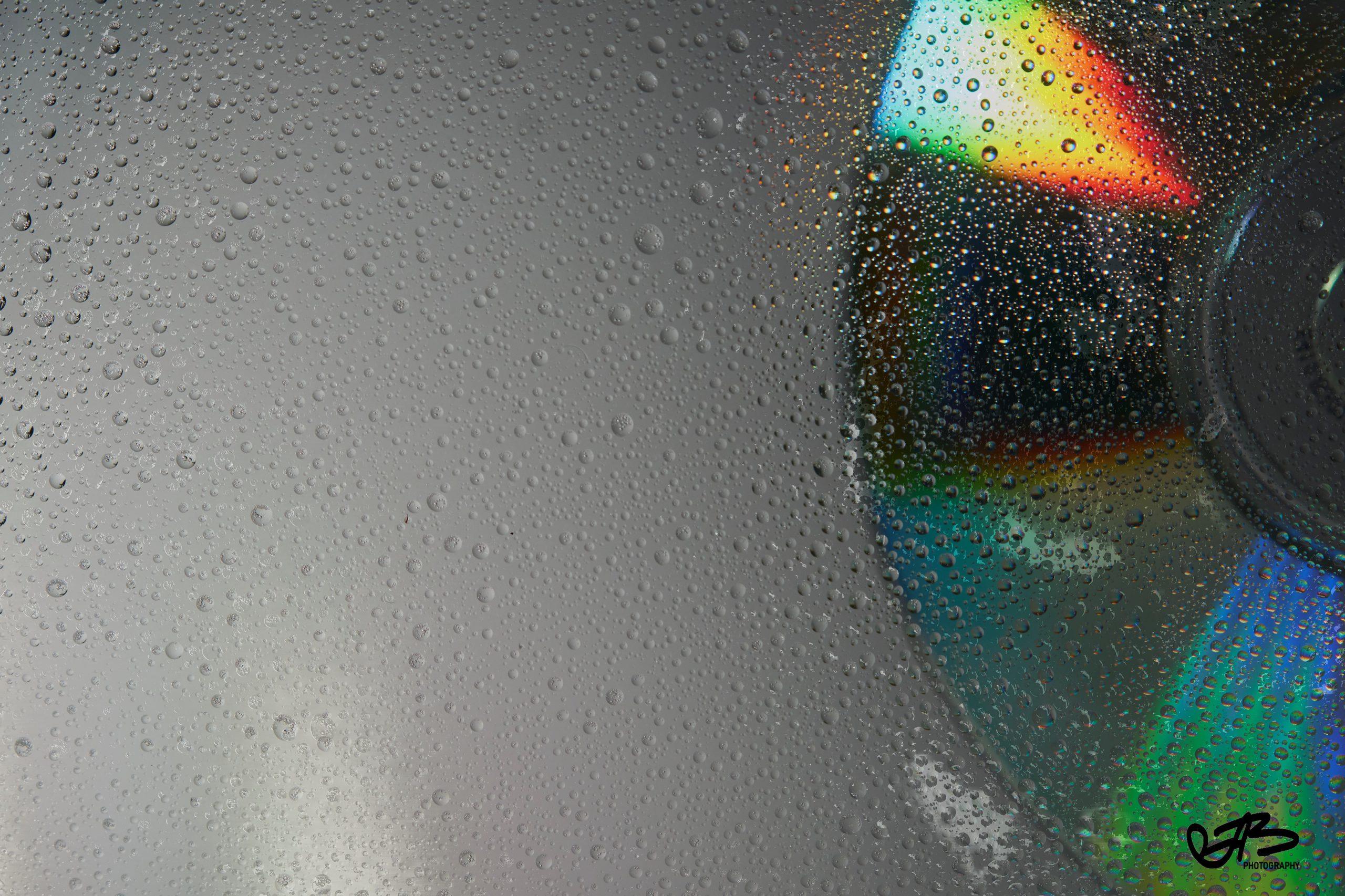 Licht, Wassertropfen, Hintergrund